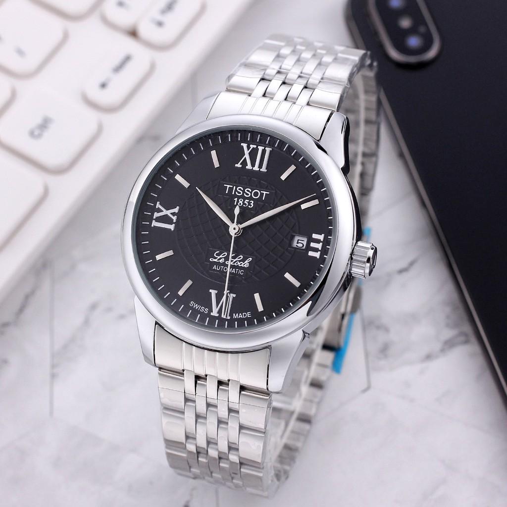 天梭 TISSOT 1853男錶 男士手錶 機械手錶 機械錶 全自動機械錶 經典之作 品質之選 真空電鍍 超強礦物質玻璃