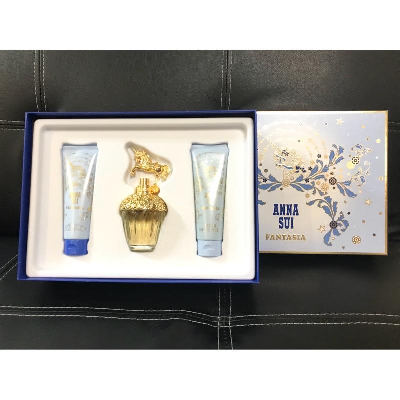 Anna Sui 童話獨角獸淡香水假期禮盒+5ml獨角獸迷你瓶x2