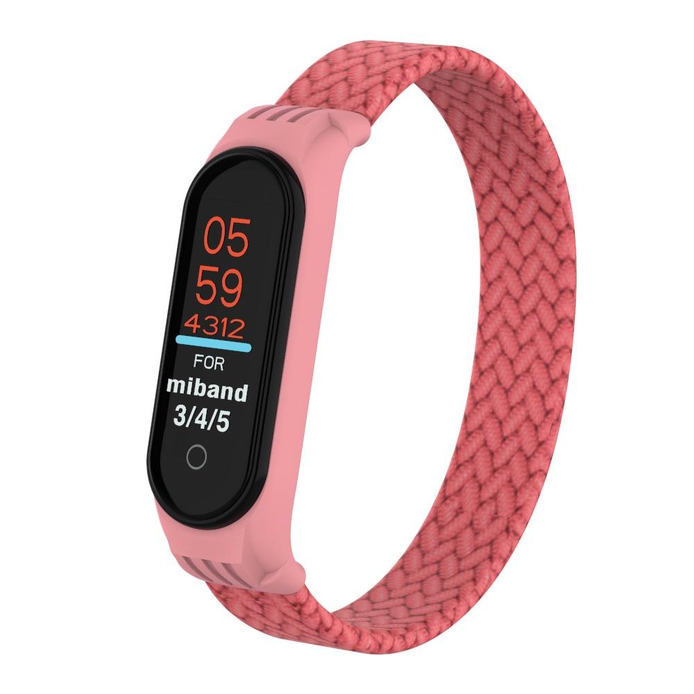 尼龍編織腕帶 適用於小米手環3/4/5/6通用  小米4 錶帶 小米手環5 小米手環錶帶 小米錶帶 小米3 小米5錶帶