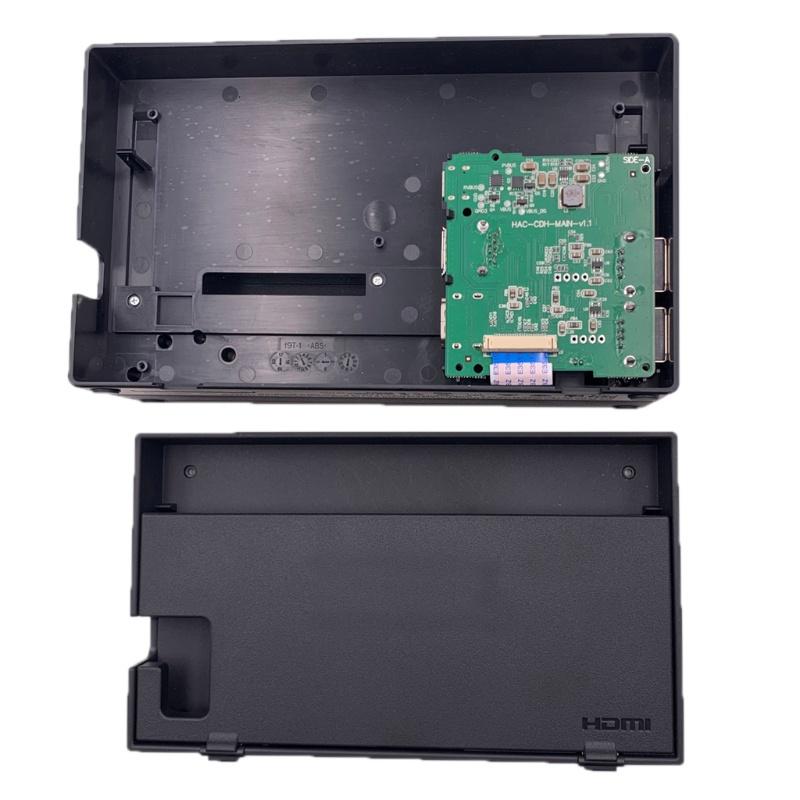 ✿ 用於 Nintend Switch 遊戲機底座零件的 Pcb 主板 HDMI 兼容更換零件