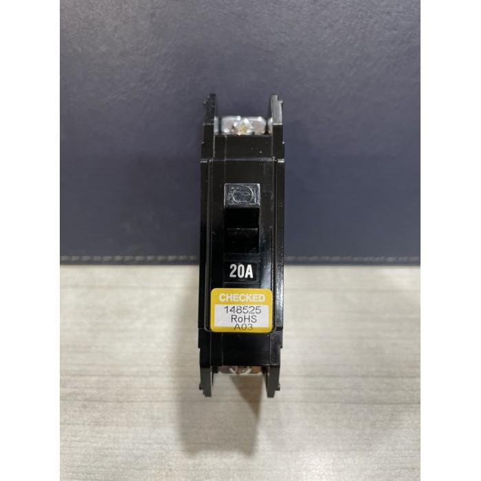 *水電DIY*東元無熔絲開關QCE100AF/5KA 1P20A 台灣製造 安檢合格