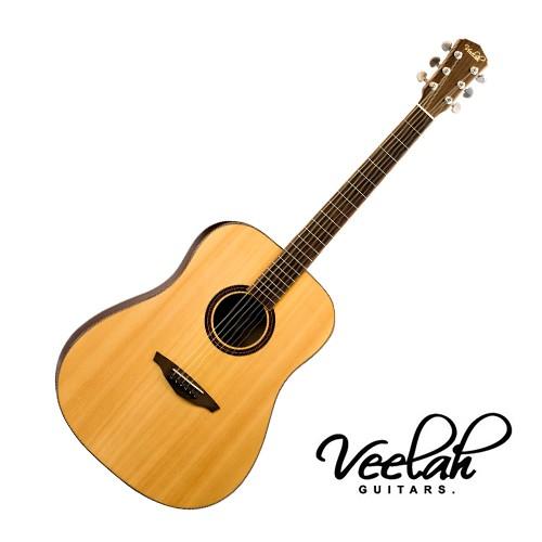 Veelah V3 D 民謠吉他40吋 雲杉單板 - 【他,在旅行】