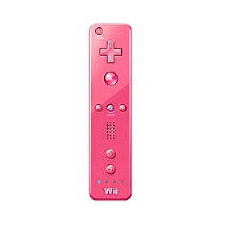 Wii 粉紅色 右手 PLUS 手把控制器(含果凍套 內建加強器) 全新品【任天堂原廠 裸裝】台中星光電玩