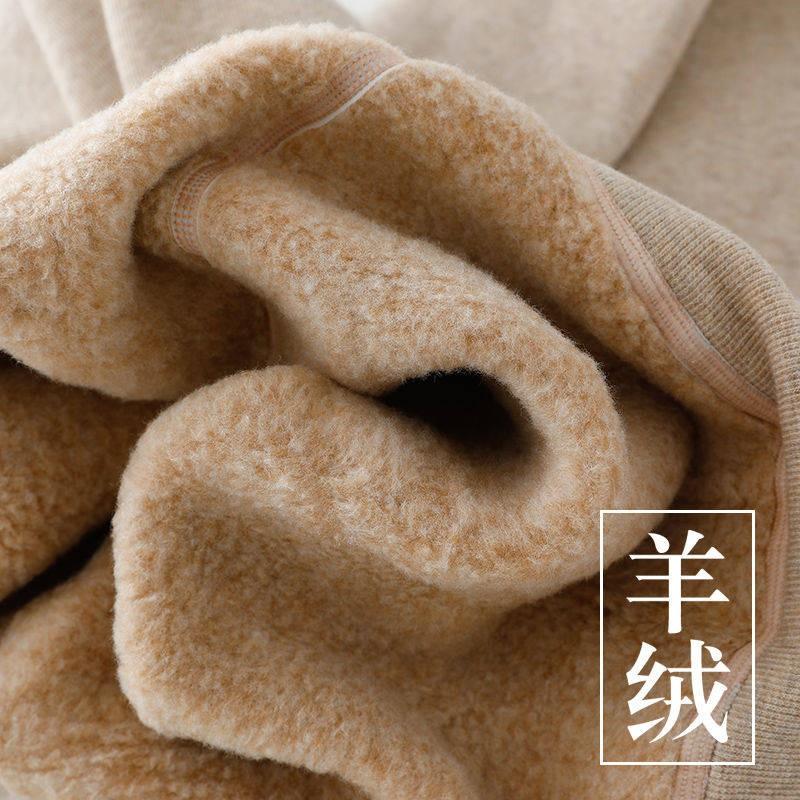 現貨 羊毛襪 日系棉羊毛豎條冬季小羊毛絨褲打底褲女外穿連襪加絨加厚保暖踩腳