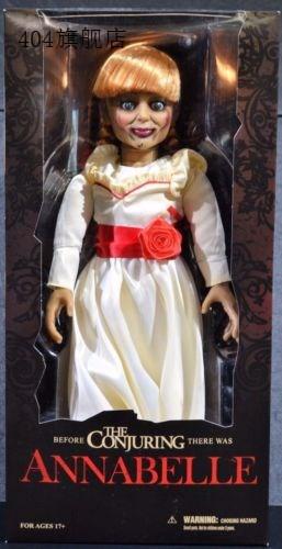 【精品收藏】Mezco  活死人娃娃 厲陰宅 安娜貝爾  Annabelle 18寸可動手辦