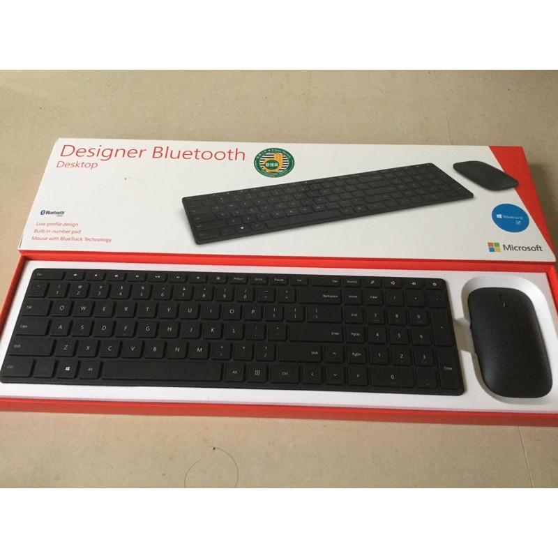 Microsoft 設計師藍牙鍵盤滑鼠