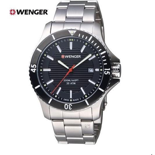 瑞士WENGER Seaforce 海勢系列 征服怒海潛水腕錶 01.0641.118