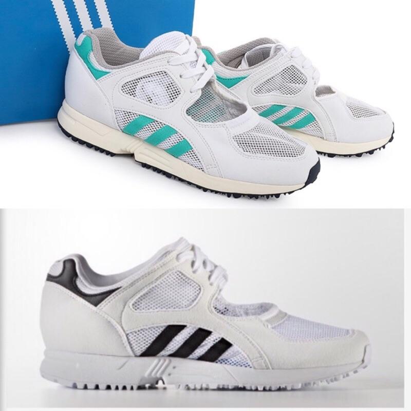 🇰🇷✈️韓國代購正品 《現貨+預購》adidas originals EQT RACING 白色 僂空芭蕾舞鞋