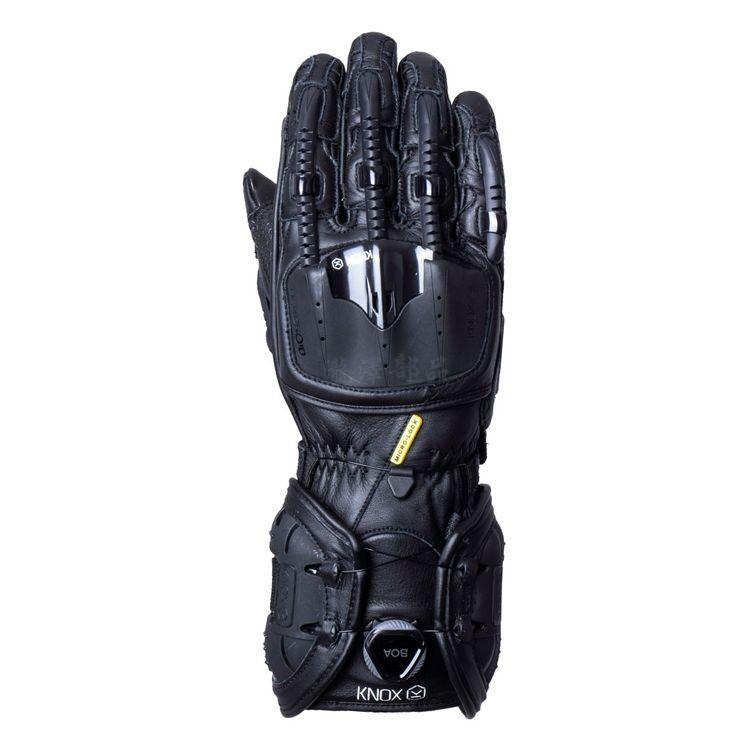 瀧澤部品 英國 KNOX Handroid MKIV 機械手套 黑 長手套 防摔防護 皮革 骨骼 護甲 頂級 耐磨 通勤