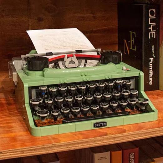 現貨免運🎊lego樂高打字機 IDEAS 21327 復古積木 相機 攝像機 放映機 拼裝模型積木
