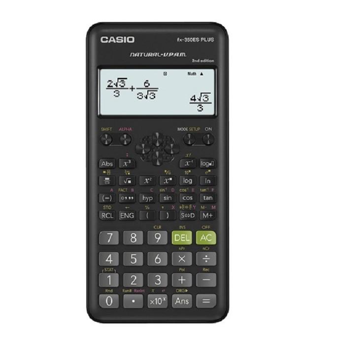 【CASIO】FX-350ES PLUS-2 12位數 科學型 標準型 計算機II 台灣卡西歐保固兩年