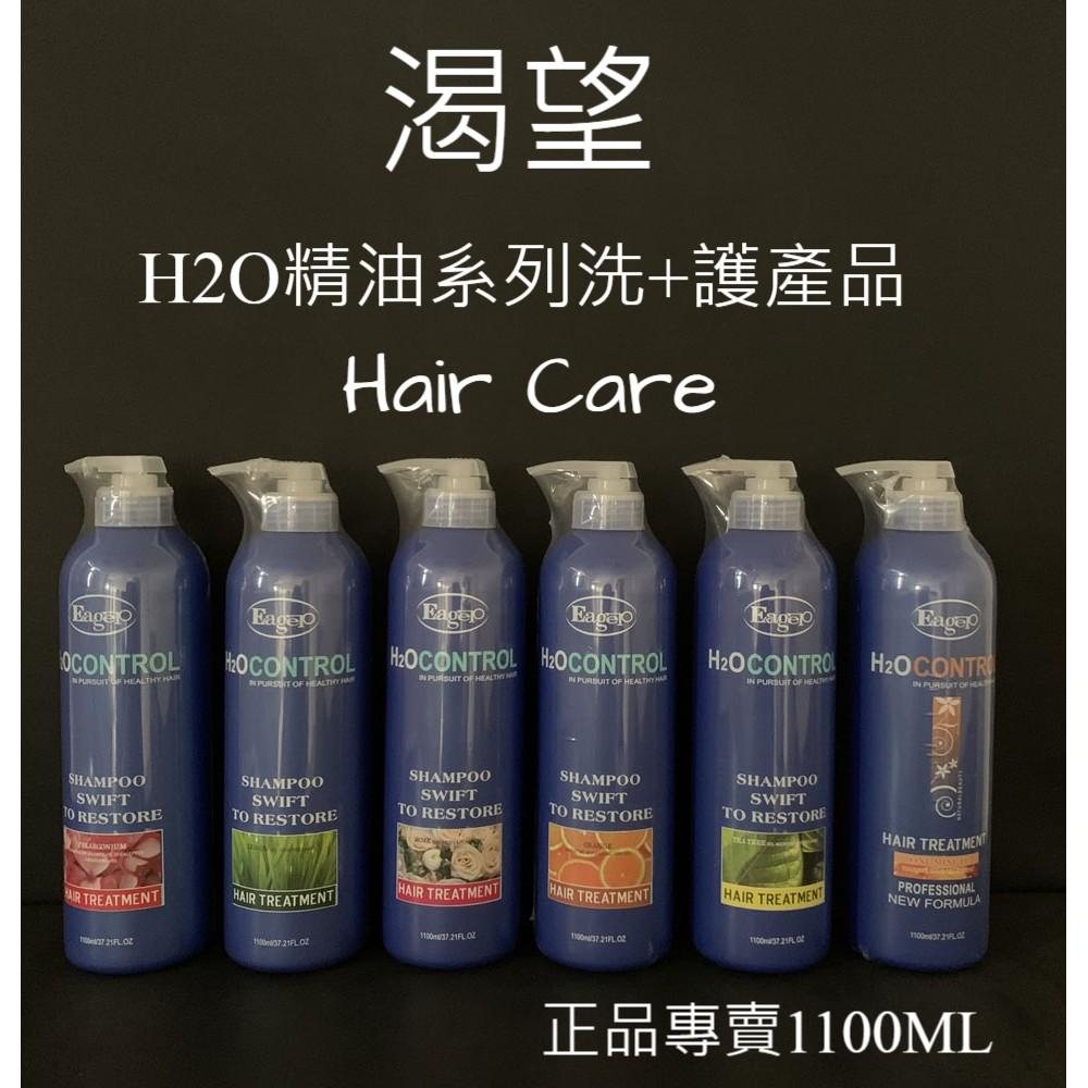 渴望H2O水分子系列洗髮精+一分鐘護髮素1100ML(特價679元)現貨