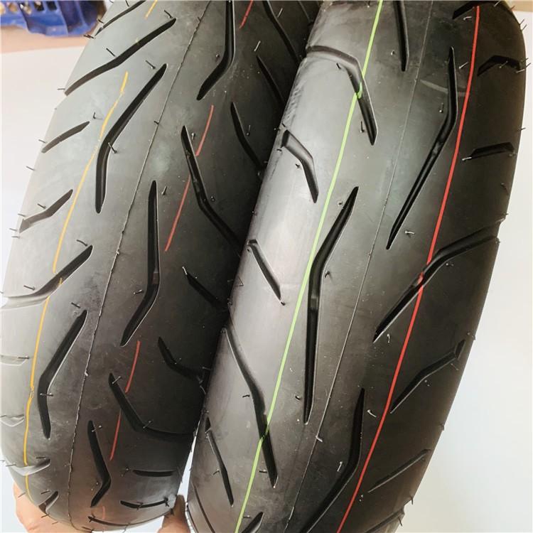 現貨 好品質適用 摩托車賽艇250 120/80-14 120/70-14真空輪胎14寸 高速輪胎