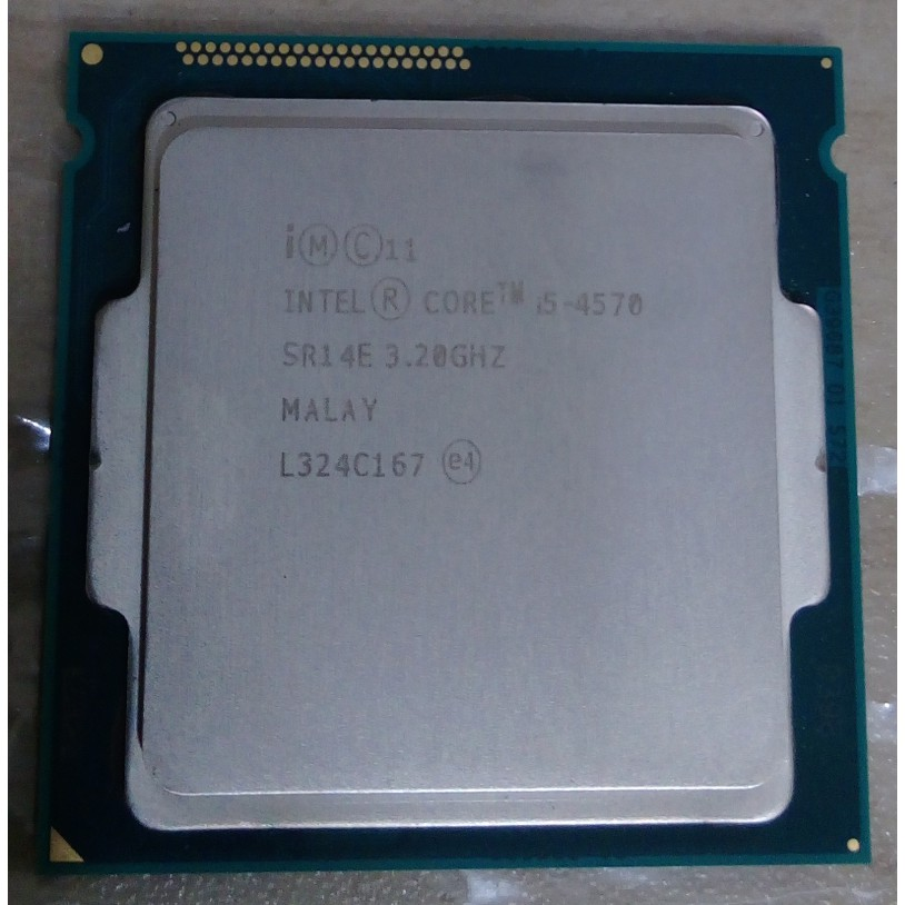 Intel core 四代 i5-4460 (1150 腳位) CPU 附風扇