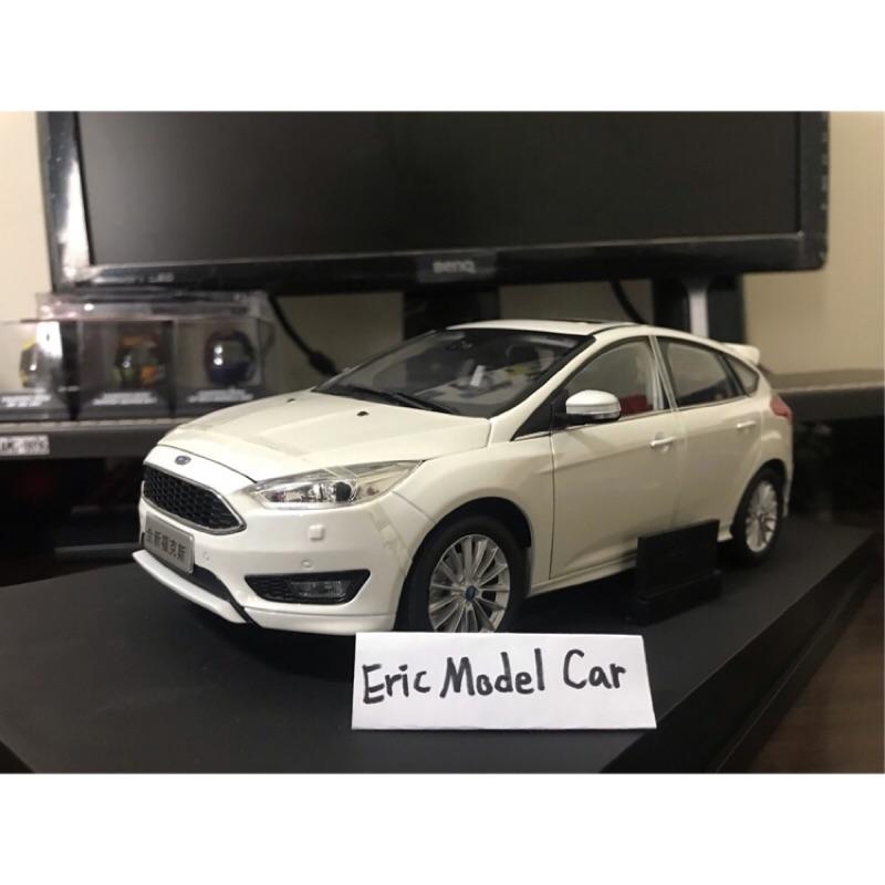 【E.M.C】1:18 1/18 原廠 福特 Ford Focus MK3.5 S 運動版 金屬模型車