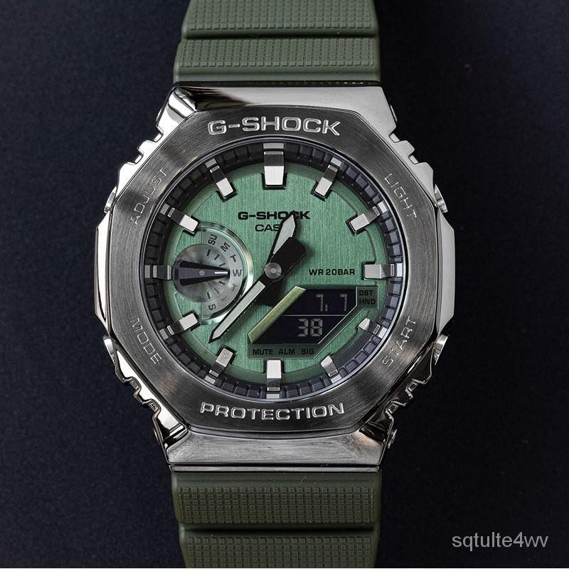 G-SHOCK八角農家橡樹金屬殼GM-2100-1A/GM-2100B-3A/4A rnoq
