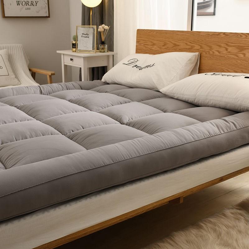 「現貨」加厚10cm羽絲絨可折疊學生宿舍榻榻米軟床墊褥子1.5m1.8m0.9米羽絨床墊 軟床墊 羽絲絨日式床墊 羽絨床