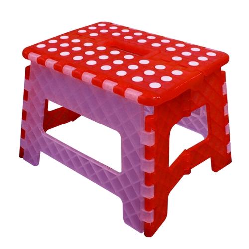 順發 SUNFAR FS-016RW 止滑摺合椅 橘白色 台灣製造