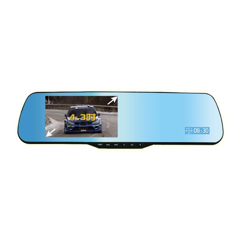 【王牌車用數位電子】F3+ 雙鏡頭 GPS測速 行車紀錄器 1080P 4.3吋