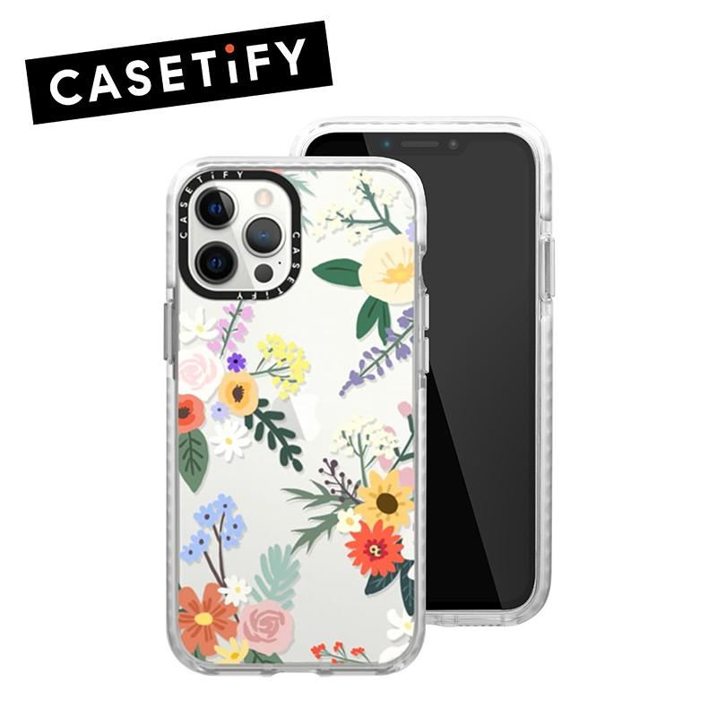 【CASETiFY】適用於iPhone 12/12 Pro 耐衝擊保護殼-艾莉花園