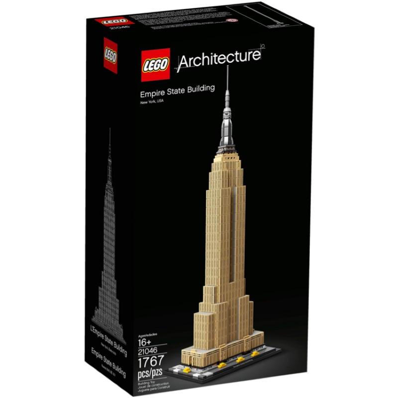 <全新> LEGO Architecture 帝國大廈 Empire State Building 21046 <全新>