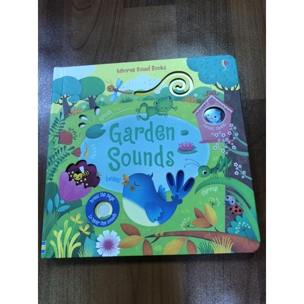 usborne 音效書 Garden Sounds(音效已無反應)