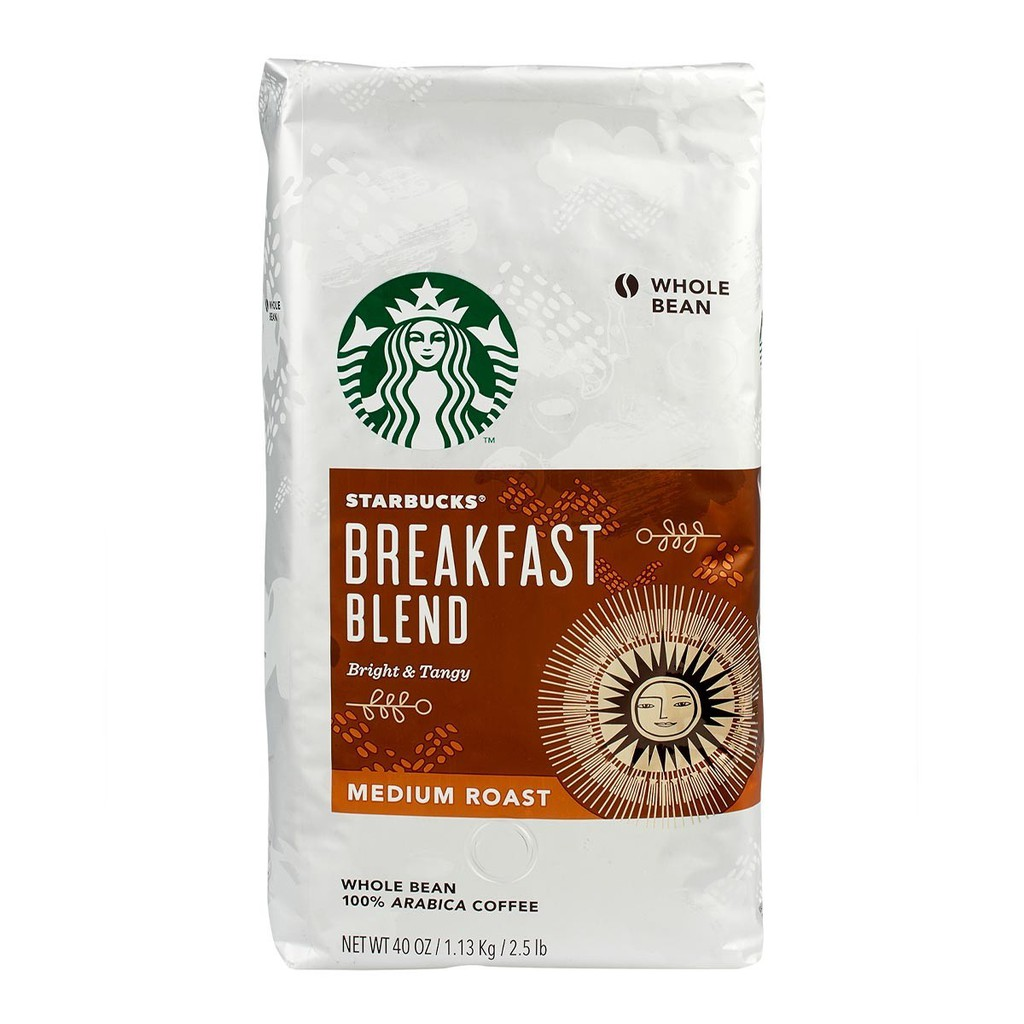 Starbucks Breakfast Blend 早餐綜合/派克市場 咖啡豆 1.13公斤【Sunny Buy】