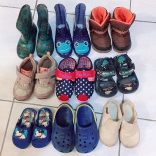 全新/ 二手童鞋多雙男童童鞋 雨鞋拖鞋布鞋球鞋 新竹市