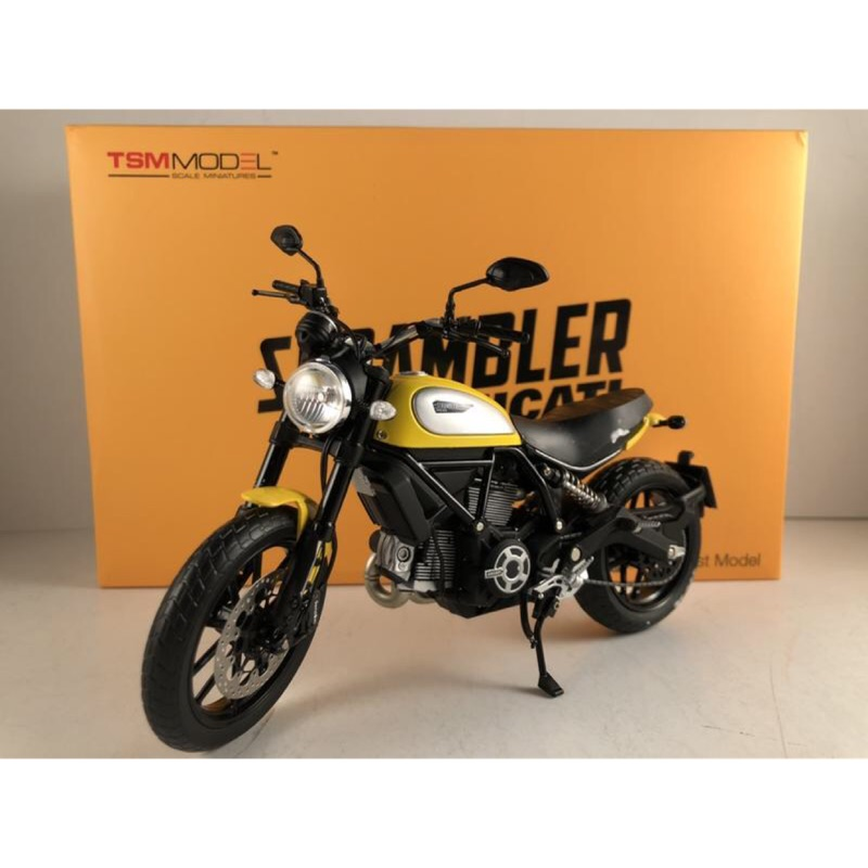 吉華科技@TSM TSMMC0003 Ducati Scrambler Icon 62 Yellow 1/12