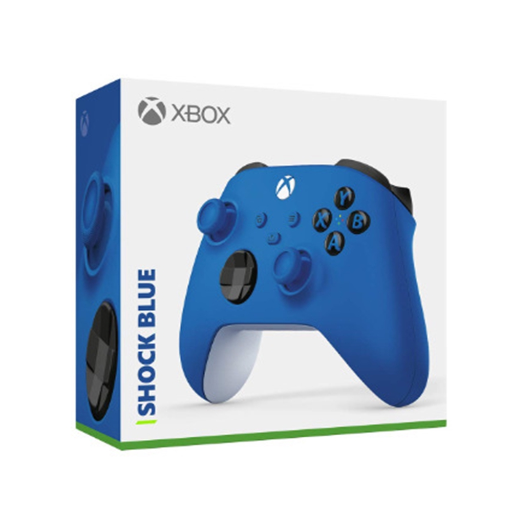 Xbox 無線控制器 衝擊藍 Shock Blue(支援Series X/S)【GAME休閒館】