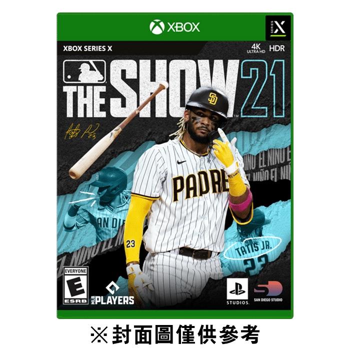 【XBOX Series X/S】美國職棒大聯盟 21 MLB The Show 21《英文版》-2021-04【預購】