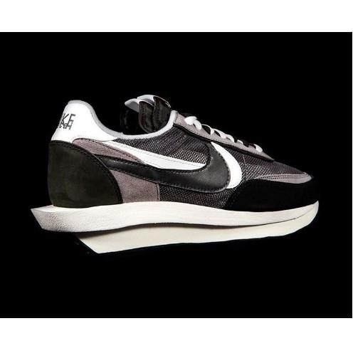 全新正品 Nike x Sacai x Dior 聯名 20新款 白灰 雙溝設計 男女 慢跑鞋