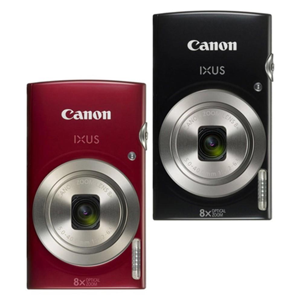 Canon IXUS 185 公司貨 小型數位相機 數位相機 黑 紅 贈32G+相機包+清潔組+小腳架+讀卡機+保護貼