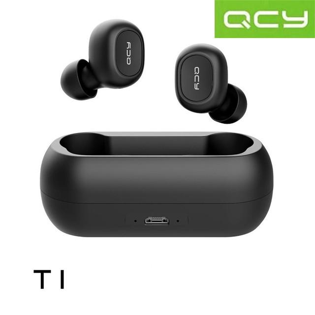 QCY T1C 雙耳藍牙5.0真無線耳機《黑色》