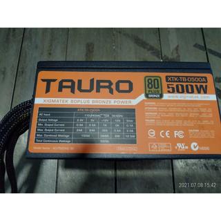 售二手富鈞 (XTK-TB-0500A) 500W TAURO系列 80銅牌PLUS 電源供應器 桃園市