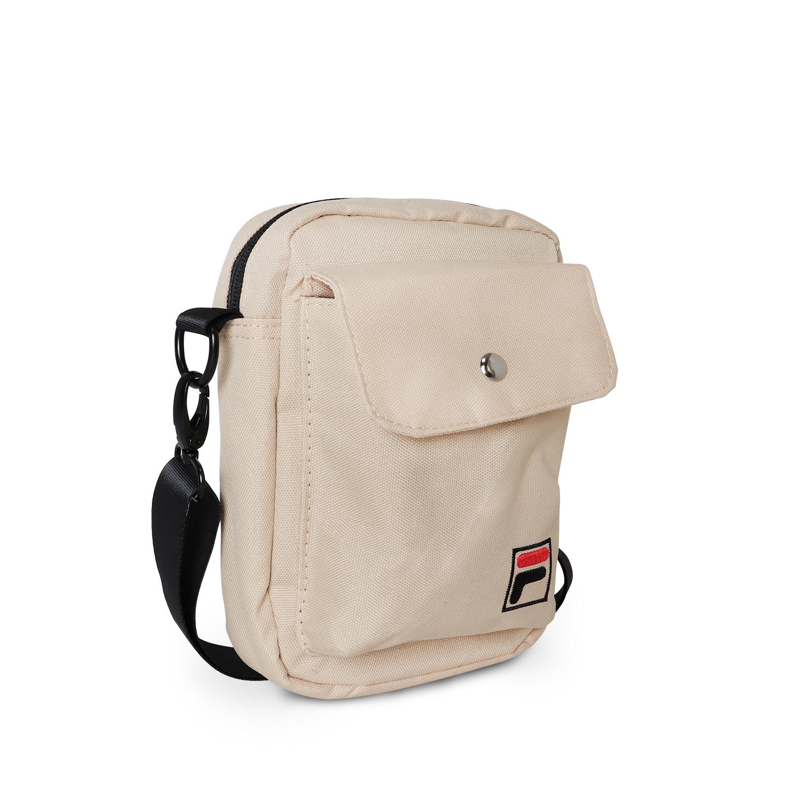 FILA 斜背包 Crossbody Shoulder Bag 卡其 奶茶 男女款 側背【ACS】BMV3014KK