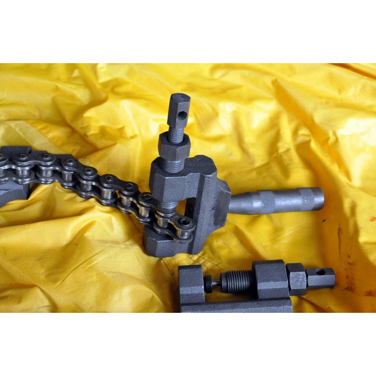 DID RK大排量摩托車進口油封鏈條428 520 525 530拆裝工具截鏈器