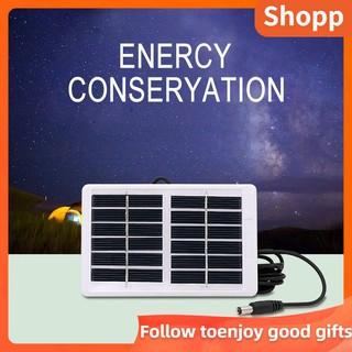 戶外多功能應急燈風扇防水太陽能電池板充電器6V 1.2Wled