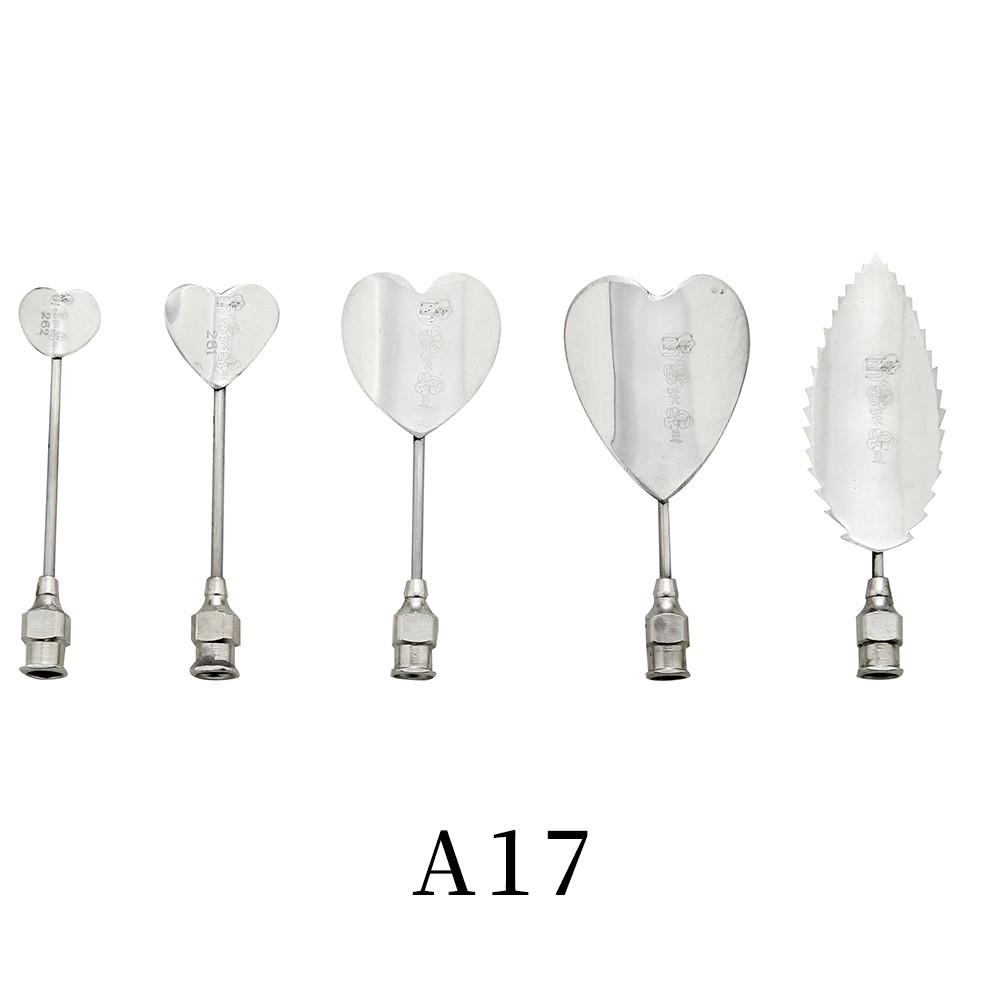 優果《越南進口不鏽鋼果凍花針A17》每組內含5支針