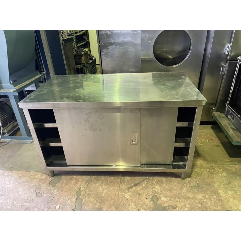 三層工作台/櫥櫃/訂製厚料1.2工作台/304不鏽鋼材質/145*75*80cm/
