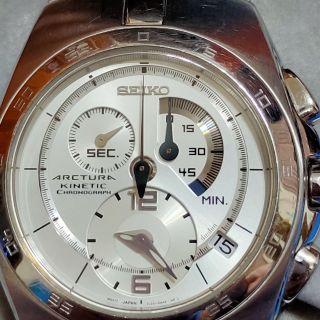 Seiko 7L22-0AA0 Arctura Kinetic Chronograph 雲林縣