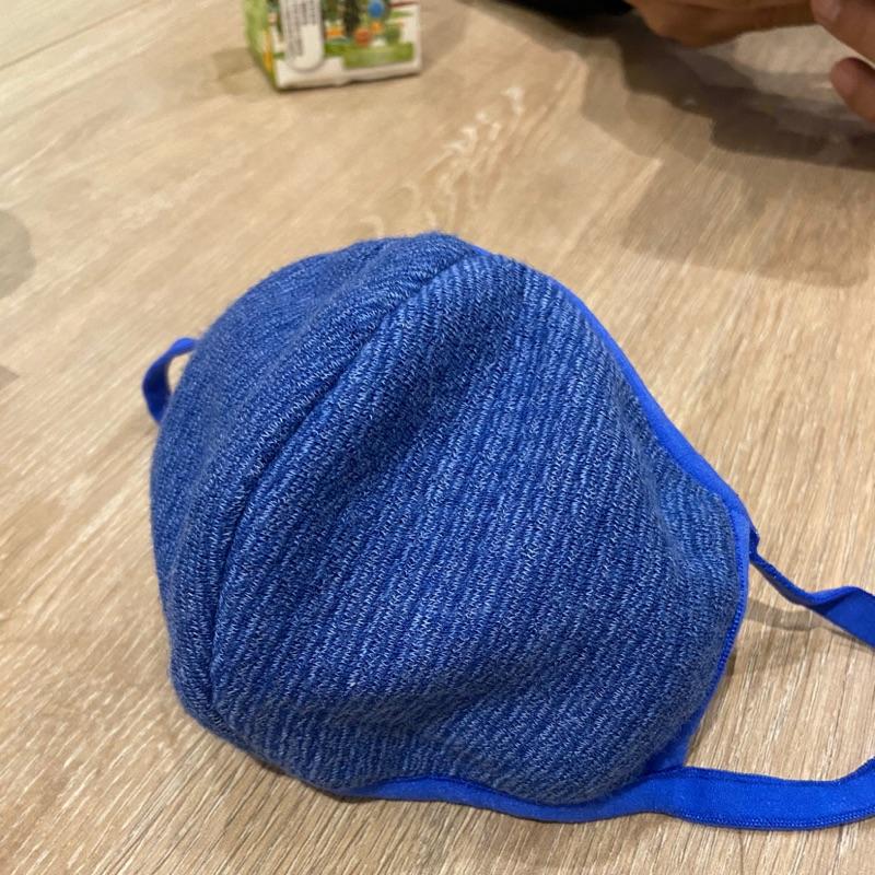 妮芙露立體版口罩-深藍