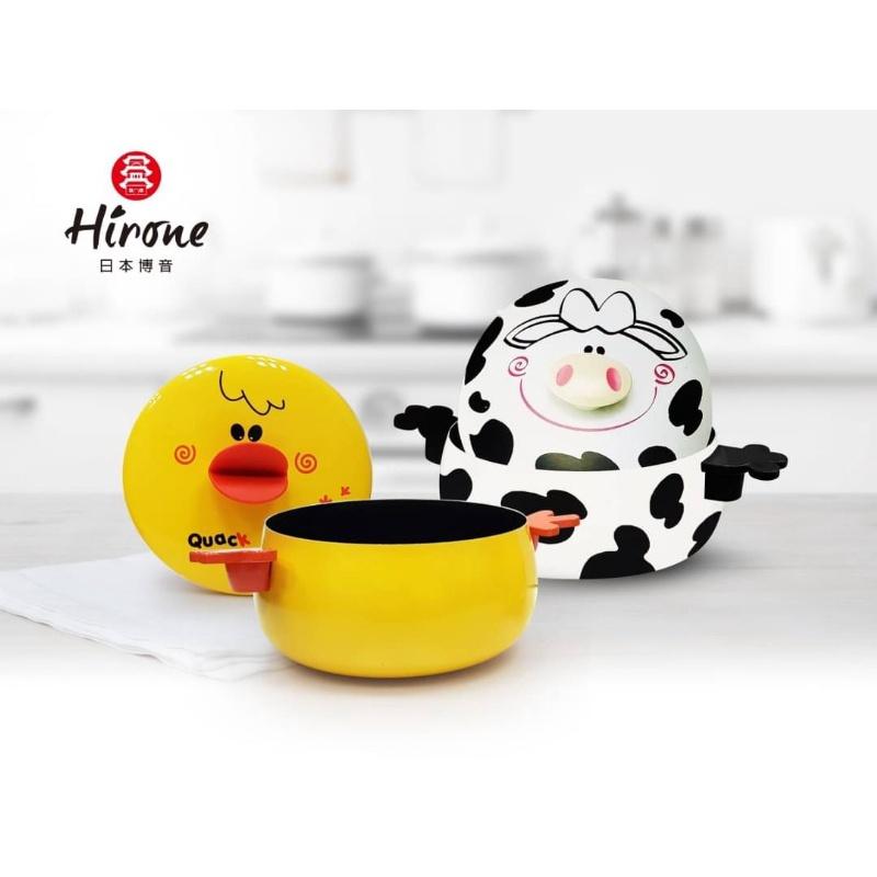 【日本Hirone】造型可愛動物湯鍋 碳鋼鍋 碳鋼不沾鍋 湯鍋 💥廠商現貨 數量有限 售完為止