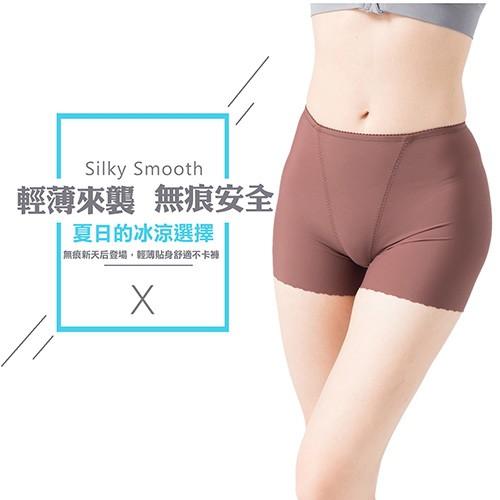 【Crosby 克勞絲緹】輕薄來襲 無痕安全平口褲 27C346 共5色 (M-XXL)