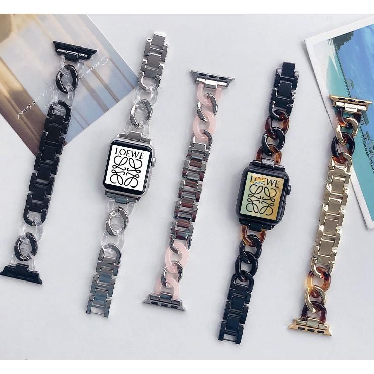 豪華 Apple Watch 錶帶不銹鋼錶帶更換 Apple Watch 系列 6 5 4 3 2, Apple Wat