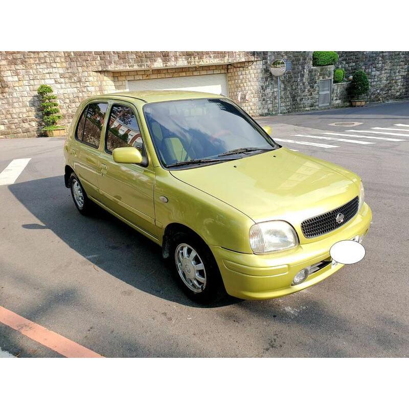 自售Nissan March 2002款 自排 1.3L 全車保養完畢耗材全部更新