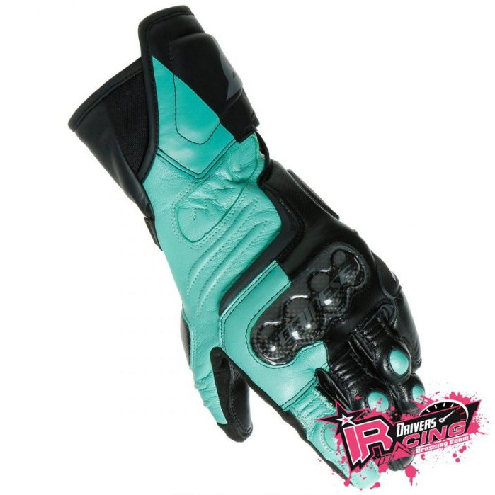 ♚賽車手的試衣間♚Dainese® Carbon 3 Long Ladies B/G 女版 碳纖維 長手套