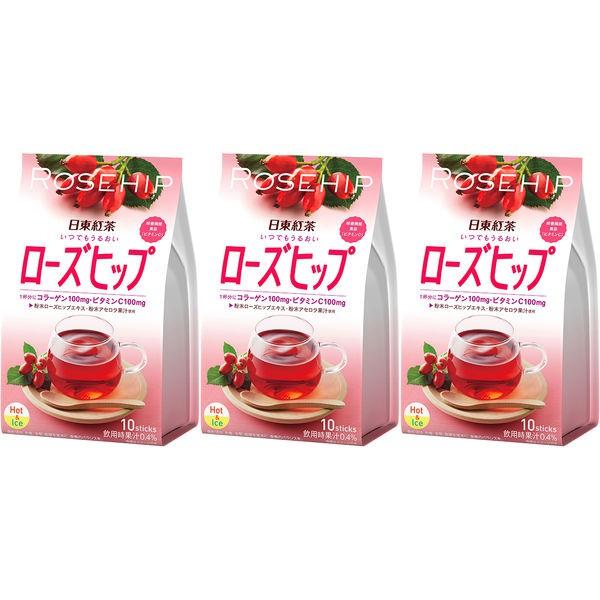 日東紅茶 即溶玫瑰果茶 30入 J842295