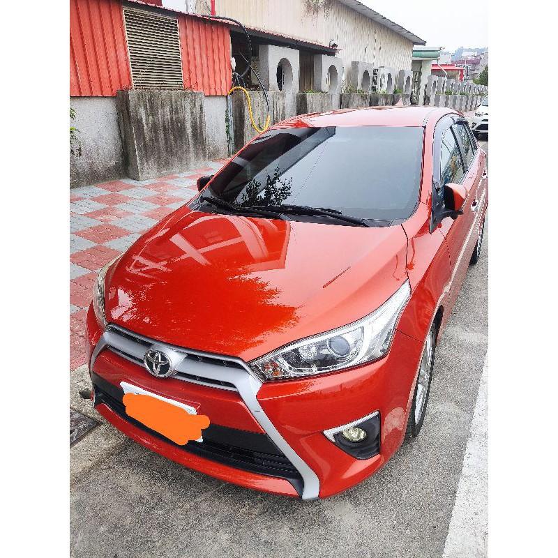 Toyota Yaris 大鴨 頂級版 自售 2014