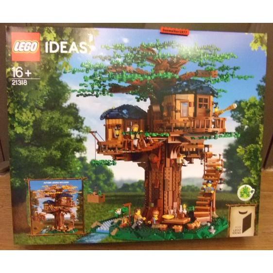 【積木2010】樂高Lego- IDEAS 全新未拆 21318 樹屋